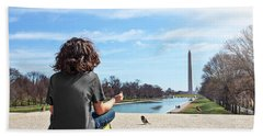 Serenity On The National Mall Bath Towel