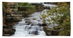 Serenity Prayer Hand Towel