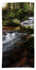 Bath Towel featuring the photograph Serenity Sunrise by Bill Wakeley