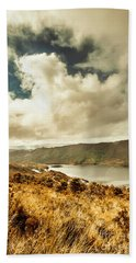 Serpentine Dam Tasmania Bath Towel