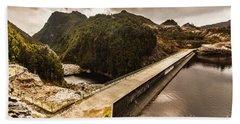Serpentine River Crossing Hand Towel