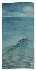 Bath Towel featuring the painting Set Free 2 by Jane See