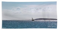Setting Sail Hand Towel by Michelle Wiarda