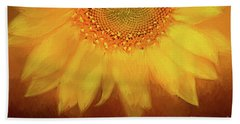 Hand Towel featuring the photograph Setting Sun by Darren Fisher