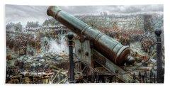Sevastopol Cannon 1855 Hand Towel by Pennie  McCracken