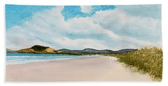 Seven Mile Beach On A Calm, Sunny Day Bath Towel