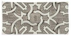 Seventeenth Century Design For Parterre Bath Towel