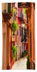 Seville, Colorful Spain Hand Towel
