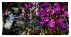 Shades Of Purple  Bath Towel by Thom Zehrfeld
