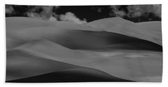 Shades Of Sand Hand Towel by Brian Duram