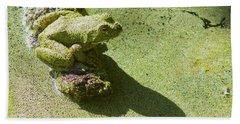 Shadow And Frog Bath Towel