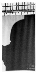Hand Towel featuring the photograph Shadow by Steven Macanka