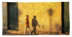 Shadow Walking Hand Towel