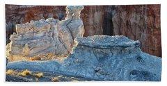 Shadows At Coal Mine Canyon Bath Towel