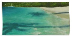 Shadows Over Magens Bay By Alan Zawacki Bath Towel
