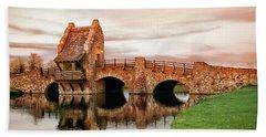 Shakespeare Bridge Hand Towel by Iryna Goodall