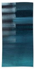 Shallow- Abstract Art By Linda Woods Hand Towel