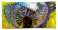 Bath Towel featuring the digital art Shallow Well by Ron Bissett