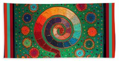 Shaman Serpent Ritual Bath Towel