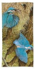 Kingfisher Hand Towels