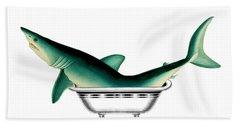 Shark In The Bath Bath Towel
