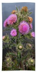 Sharp Thistle Hand Towel by Arthur Dodd