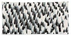 Sharp Wooden Pencils Hand Towel by Evgeniy Lankin