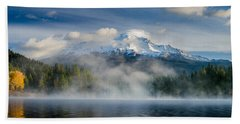 Shasta Mists And Morning 2 Hand Towel