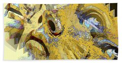 Shattered Illusions Bath Towel
