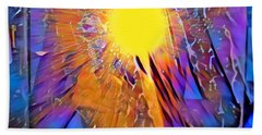 Shattering Perceptions   Bath Towel