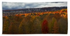 Shawangunk Mountains Hudson Valley Ny Bath Towel