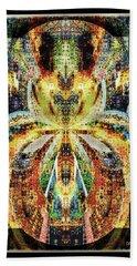 Bath Towel featuring the digital art She Is A Mosaic by Paula Ayers