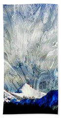 Sheep's Head Peak April Snow II Bath Towel
