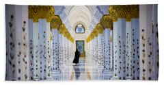 Sheikh Zayed Grand Mosque Hand Towel