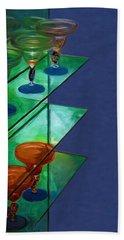 Bath Towel featuring the digital art Sheilas Margaritas by Holly Ethan