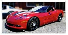 Shelby Corvette Hand Towel