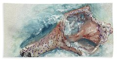 Shell Gift From The Sea Hand Towel by Doris Blessington