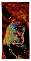 Shell Space Hand Towel by Gina O'Brien
