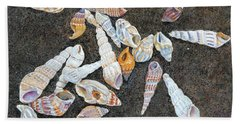 Shells From The Sea Of Galilee Bath Towel