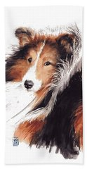 Sheltie Bath Towel