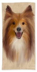 Sheltie Hand Towel