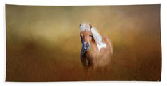 Shetland Pony Bath Towel by Marion Johnson