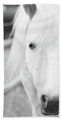 Shetland Pony Hand Towel by Tina Lee