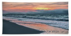 Hand Towel featuring the photograph Shine On Me Beach Sunrise  by John McGraw