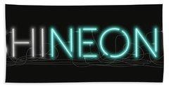 Shineonu - Neon Sign 1 Hand Towel