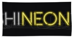 Shineonu - Neon Sign 3 Hand Towel