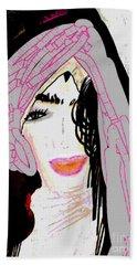 Shining Star Hand Towel by Ann Calvo