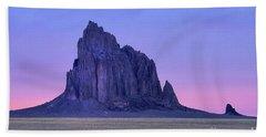Ship Rock Sunset Bath Towel