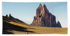 Shiprock 3 - North West New Mexico Bath Towel by Brian Harig