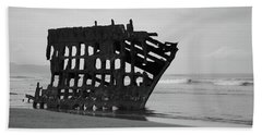 Shipwreck On The Shore Hand Towel